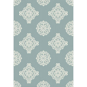 Picture of E145 Aqua and Ivory Katnis Rug