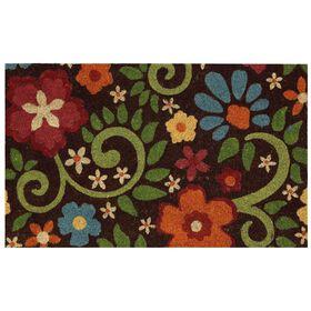 Picture of Flowering Swirls Coir Doormat 18 X 30-in