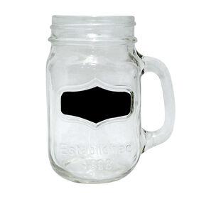 Picture of Yorkshire Chalkboard Mason Jar Mug - set of 4