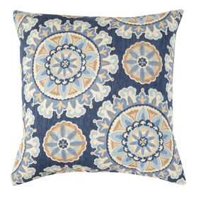 Talahari Cornflower Square Pillow