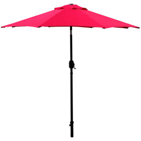 Picture of 7.5ft. Crank Tilt Umbrella, Red