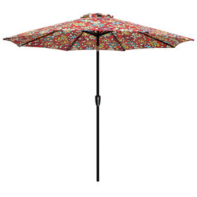 Picture of Crank Tilt Wilder Cabana Umbrella- 9-ft