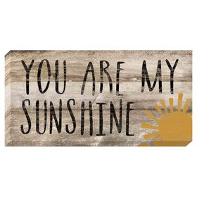 Picture of You Are My Sunshine Accent Art- 10x20 in.