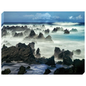 Picture of GA TEX 36X48 ROCKY SHORE FOG