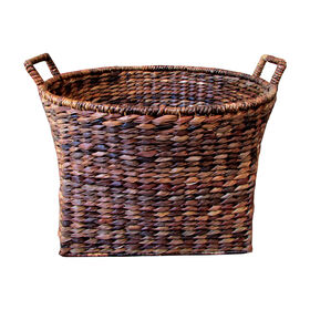 Picture of X-Large Oval Woven Basket with Handles
