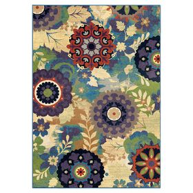 Picture of A242 Sassy Mardi Gras Rug
