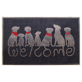 Picture of Assorted Artist Dog Doormat- 18x30 in.