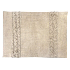 Picture of Natural Burlap Braid Placemat