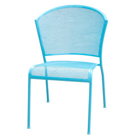 Picture of Armless Wire Stake Chair - Turquoise