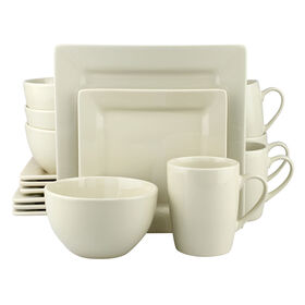 Picture of 16 PC SQ DINNERWARE SET TAUPE