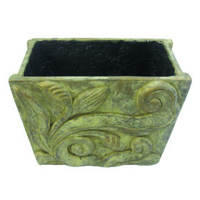 Picture of Beige Terracotta Rectangular Planter- 14 in.