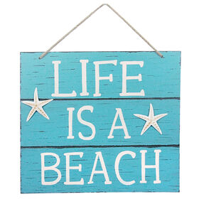 Picture of 16-in. Wood Life is a Beach and Welcome Signs, Assorted