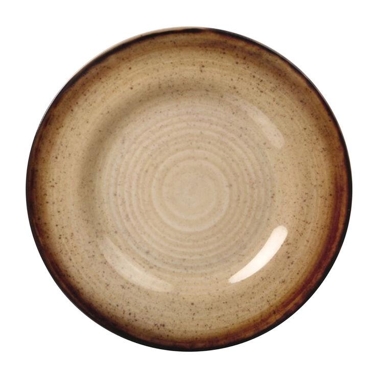 Folkloric Melamine Dinner Plate, Tan