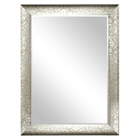 Picture of 30 X 40-in Pewter Olivia Mirror