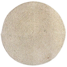 Picture of Blue Burlap Cord Placemat