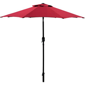 Picture of 7.5ft. Crank Tilt Umbrella, Cinnabar