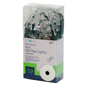 Picture of 20CT BO LED WHT STAR.TIMR