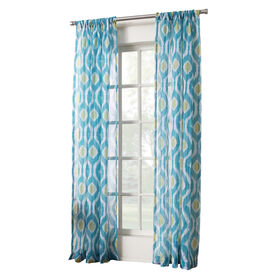 Picture of Marine Marquez Printed Sheer Window Curtain Panel 95-in