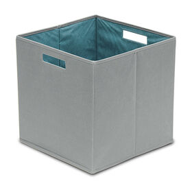 Picture of Full-Bin Storage Bin - Dark Gray Fabric