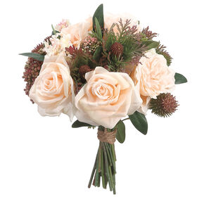 Picture of Rose, Lilac & Thistle Bouquet 13-in