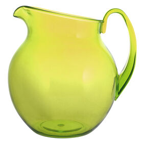 Picture of Green Spanish Tile Large Pitcher