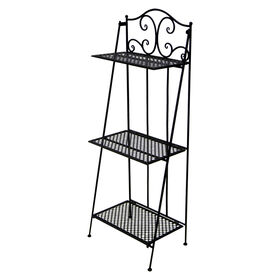 Picture of 3-Rack Black Baker's Shelf 17 X 45-in