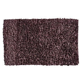 Picture of Chocolate Paper Shag Accent Rug 27 X 45-in