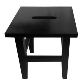 Picture of 12-in Square Step Stool - Black