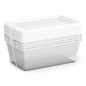 Picture of 5 Pack Large Storage Boxes 6.4 Quarts