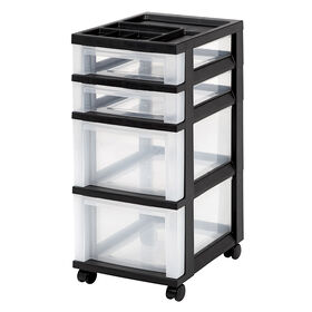 Picture of 4 Drawer Slim Back