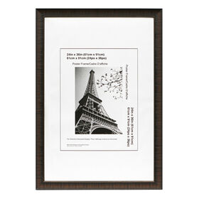 Picture of 24 X 36-in Espresso Maria Poster Frame