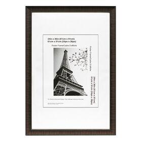 24 x 36 in espresso maria poster frame