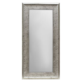 Picture of 24 X 58-in Antique Silver Lacy Mirror