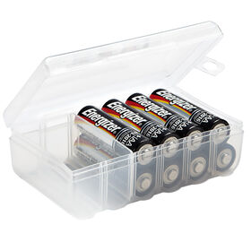 Picture of AA-Battery Storage Box, Clear