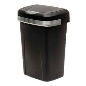 Picture of 12.2 Gallon Premium Touch-Top Trash Can - Black