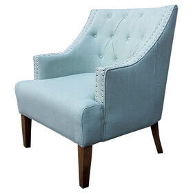 Picture of Torrei Spa Tufted Chair - Blue