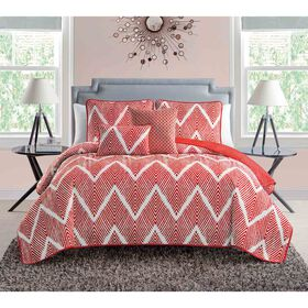 Picture of MELA CHEV 5 PC QUILT ORG FUQU