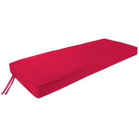 Picture of Red Bench Gusset Seat Cushion Pad