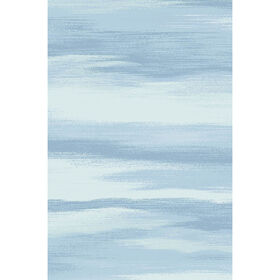 Picture of Blue Windswept Rug- 27x45 in.