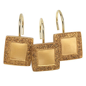 Picture of Gold Lakewood Shower Curtain Hooks