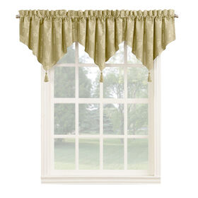 Picture of Straw Beckett Window Valance 24-in