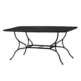 black wrought iron patio outdoor table 38 x 60 black wrought iron patio furniture