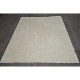 Picture of C73 White Shag Rug