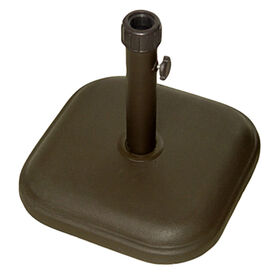 Picture of Brown Umbrella Base, Holds 24lbs.