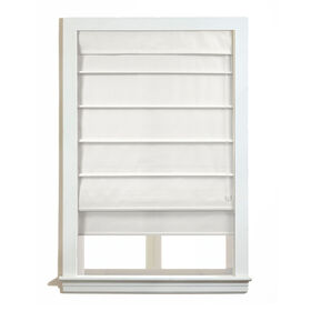 Picture of Richmond Roman Shade- White 27x64-in