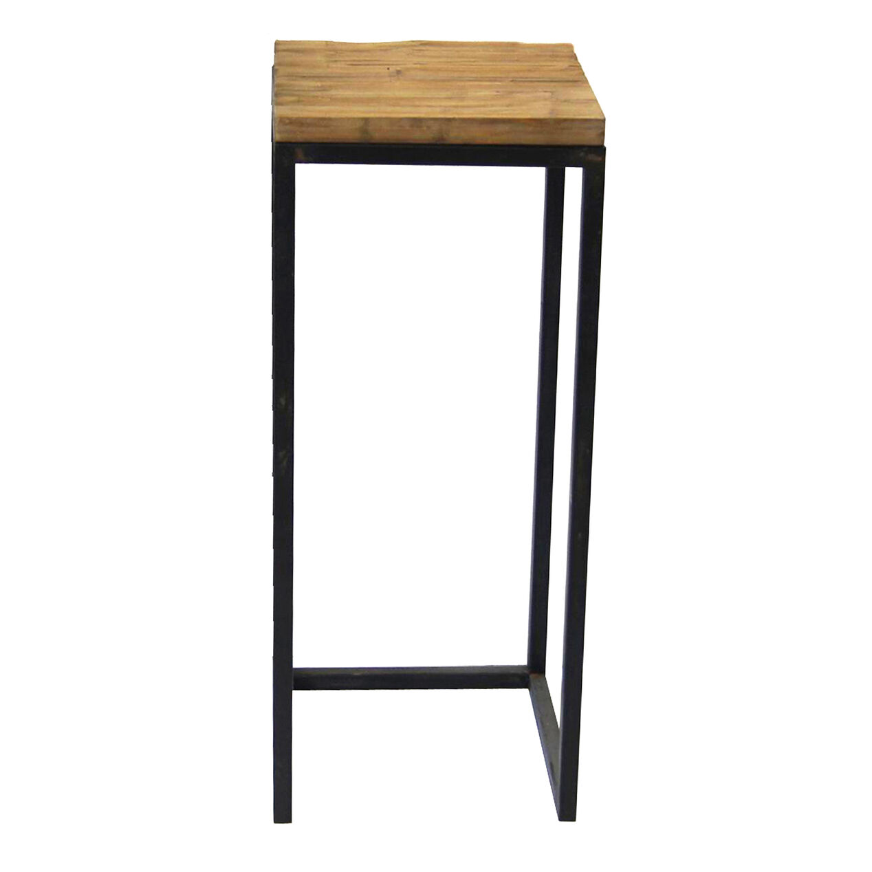 Wood Top Metal Plant Stand Large Sold Separately At Home