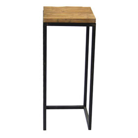 Picture of Wood-Top Metal Plant Stand- Large (Sold Separately)