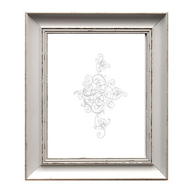 Picture of 11 X 14-in White Shabby Chic Frame