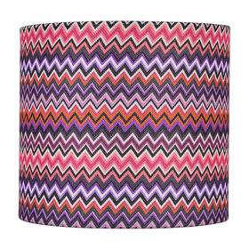 Picture of Multi-Color Zigzag Lamp Shade