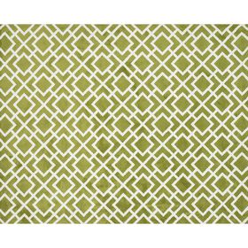 Picture of A172 Green Geometric Peridot Rug